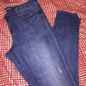 Gap Jean Leggings Size 14 (32) EUC
